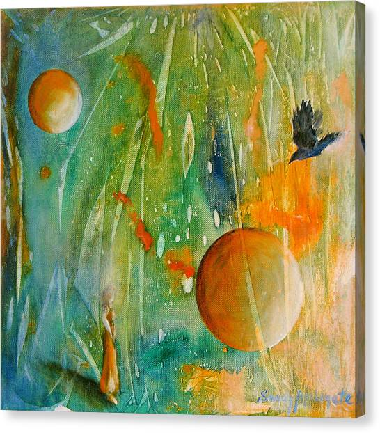 Rare And Radiant Maiden Canvas Print by Sandy Applegate