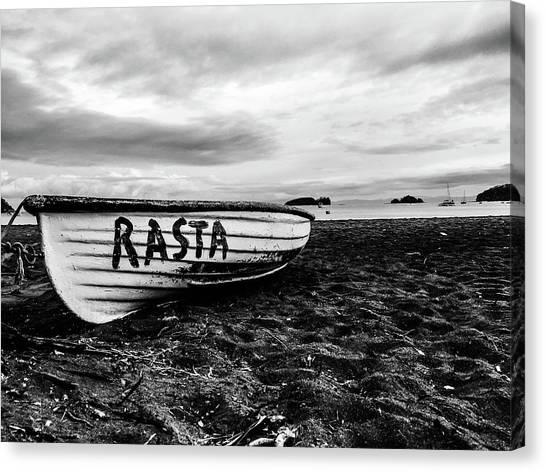 Rasta Noire  Canvas Print