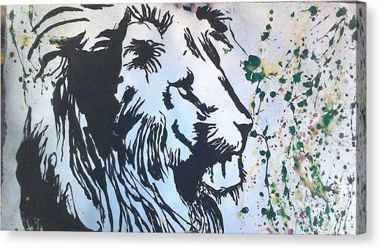 Art Movements Canvas Print - Rasta Tiger by Love Art Wonders By God