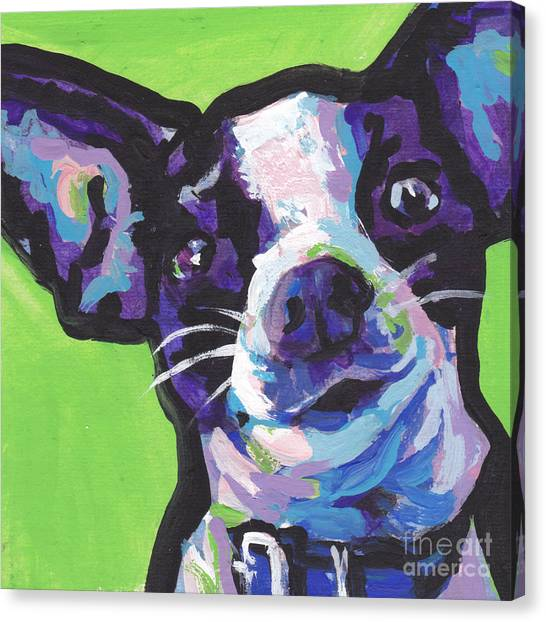 Chihuahuas Canvas Print - Rat Chi Baby by Lea S