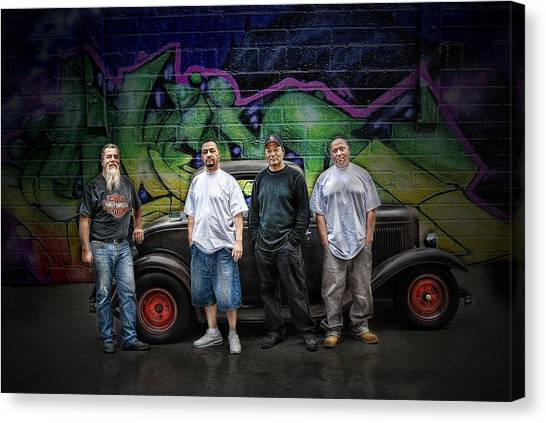 Rat Rod Kulture .... Canvas Print by Rat Rod Studios
