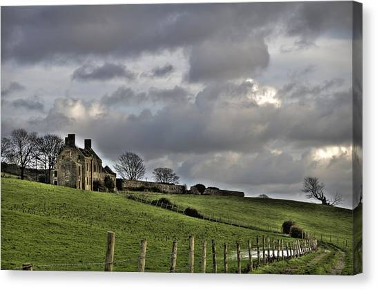 Rathfran House Canvas Print