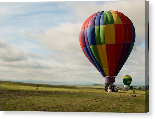 Raton Balloon Festival Canvas Print