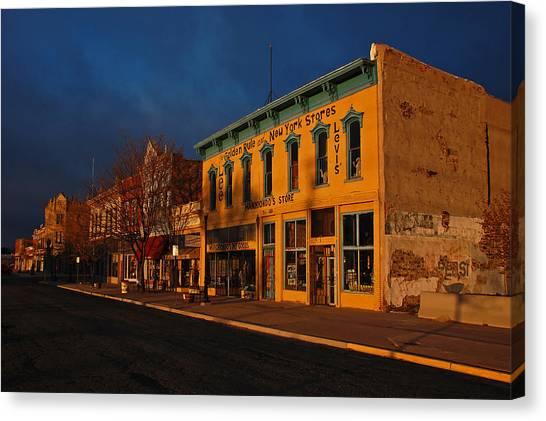 Raton Historic District Canvas Print