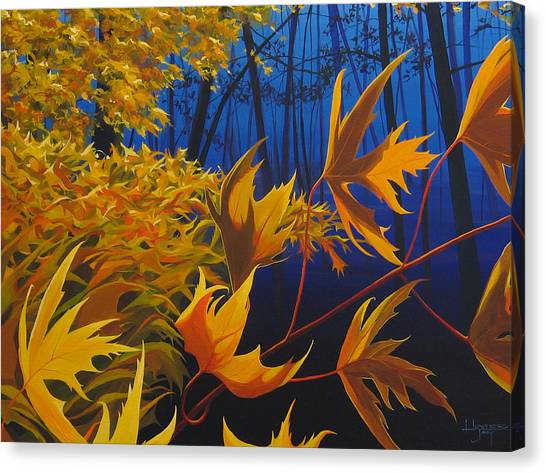 Raucous October Canvas Print