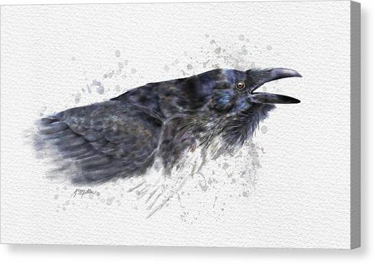Raven 2 Canvas Print