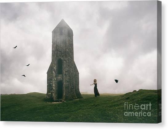 Raven Queen Canvas Print