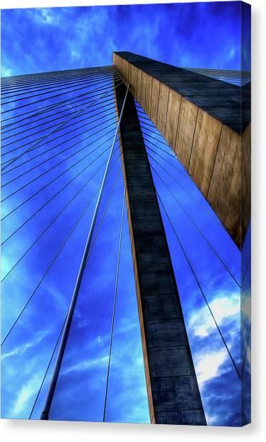 Industrial Canvas Print - Ravenel Sky by Drew Castelhano