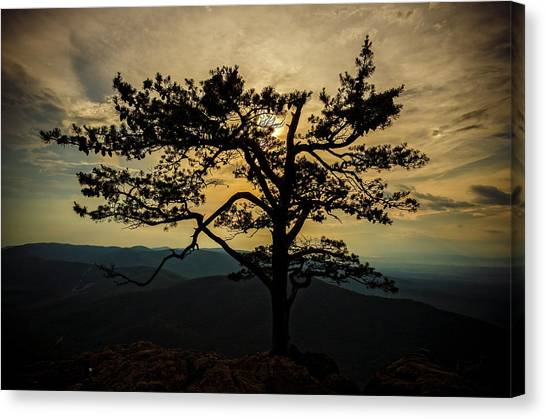 Ravens Roost Hdr Canvas Print