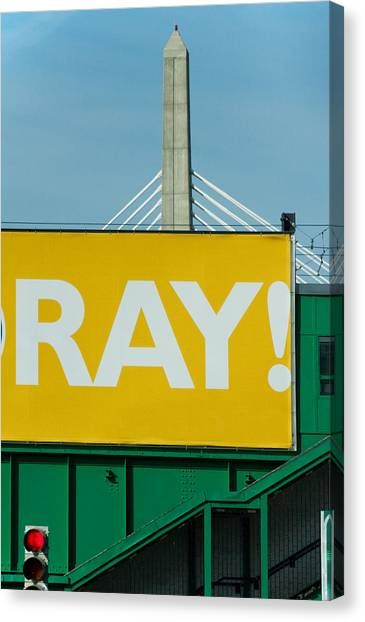 Ray Canvas Print by Art Ferrier
