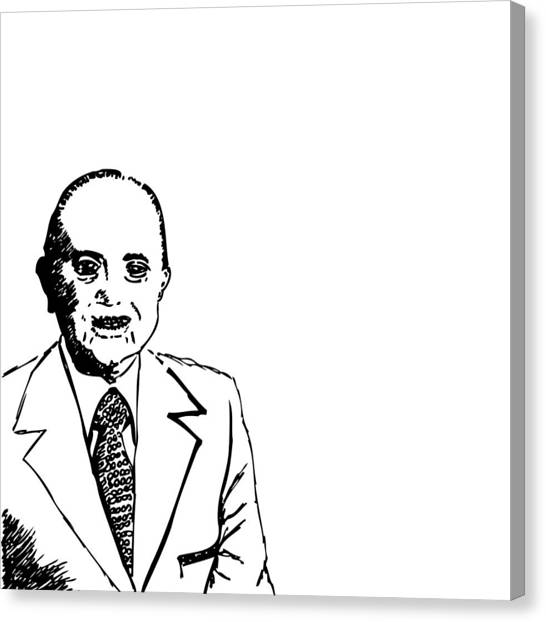Ray Kroc Canvas Print by Karl Addison