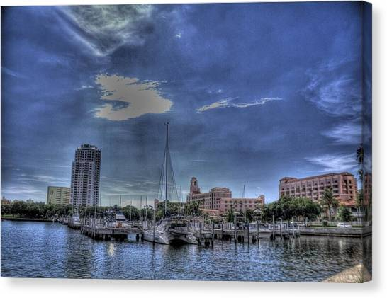 Ray Port Canvas Print by Larry Underwood
