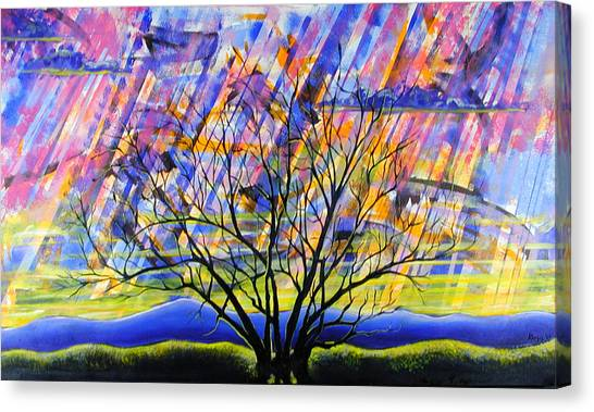Rays Of Life Canvas Print by Rollin Kocsis