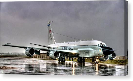 Rc-135 Rivet Joint Canvas Print