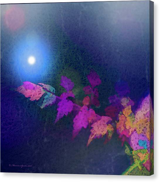 Weed Canvas Print - Reaching For The Light by Marvin Spates