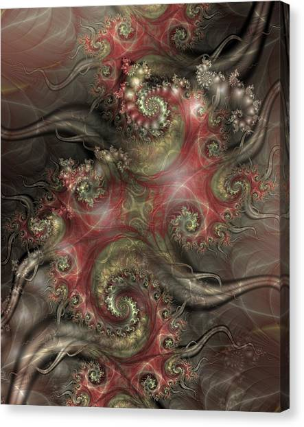 Apophysis Canvas Print - Reaching Out by David April