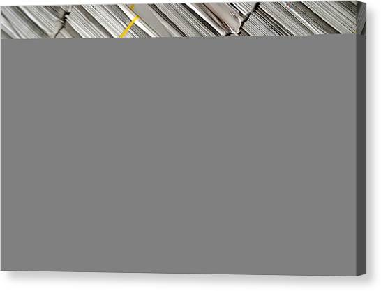 Read All About It Canvas Print by Jez C Self