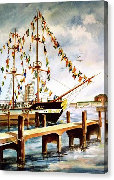Ready The Celebration Canvas Print