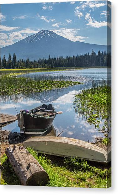 Ready To Fish Canvas Print