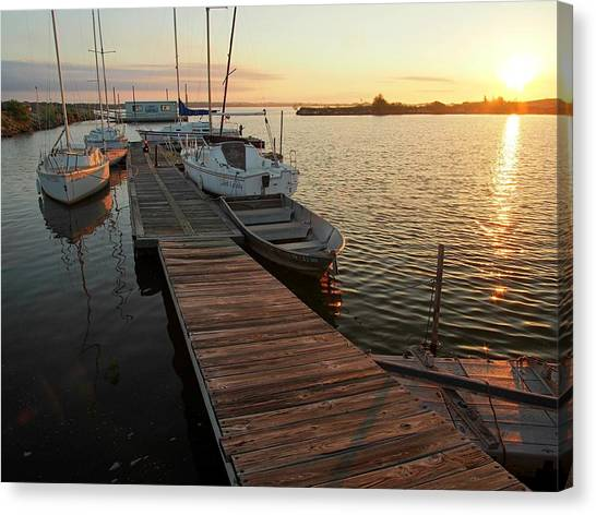 Oklahoma State University Canvas Print - Ready To Sail by Buck Buchanan