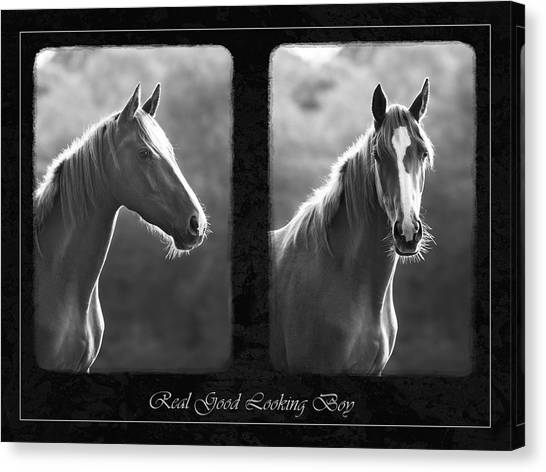 Real Good Looking Boy Canvas Print