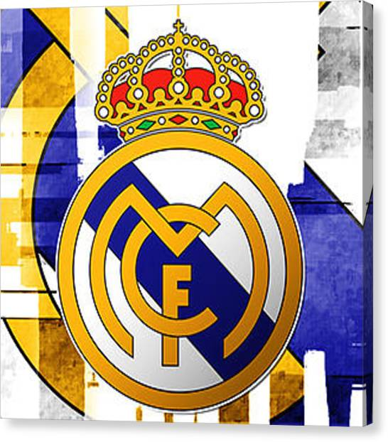 Real Madrid Canvas Print - Real Madrid by David Linhart