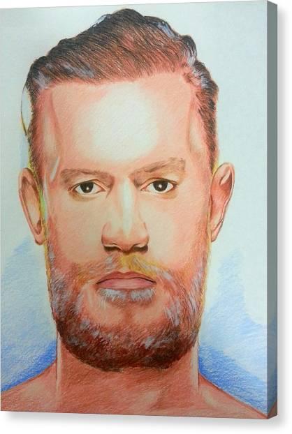 Conor Mcgregor Canvas Prints Fine Art America