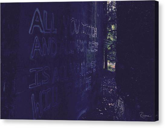 Reality Gap Canvas Print