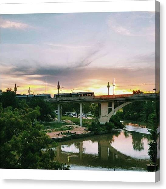 Bayous Canvas Print - Really Into Sunsets These by Roslyn Igbani