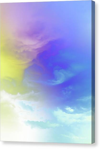 Realm Of Angels Canvas Print