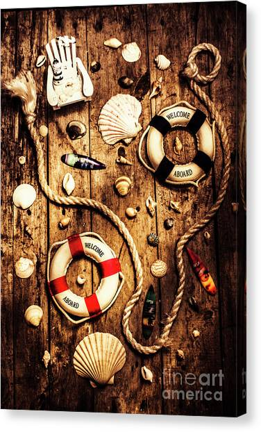 Maritime Canvas Print - Rearranging The Deck Chairs by Jorgo Photography - Wall Art Gallery