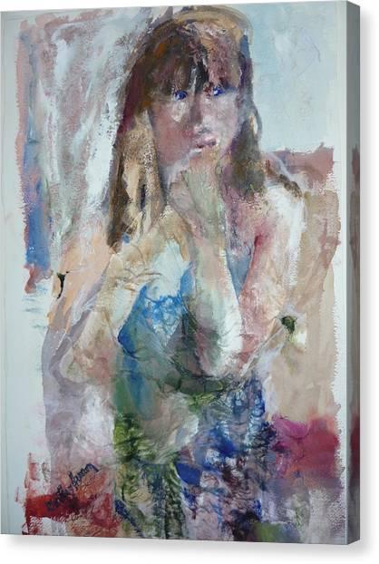 Rebecca Canvas Print by Dorothy Herron