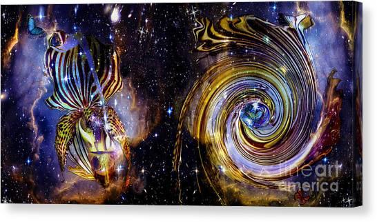 Rebirth And Eternity Canvas Print