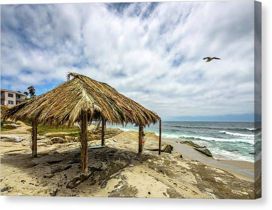 Surf Lifestyle Canvas Print - Rebirth  At Windandsea by Peter Tellone