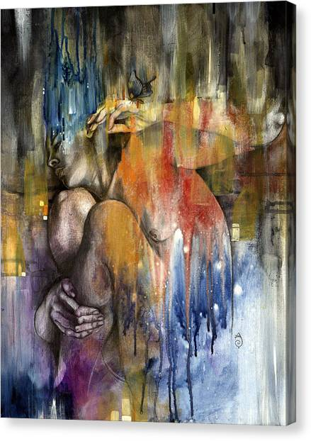 Rebirth Canvas Print - Rebirth by Patricia Ariel