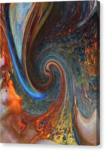 Rebirth Canvas Print - Rebirth by Steve K