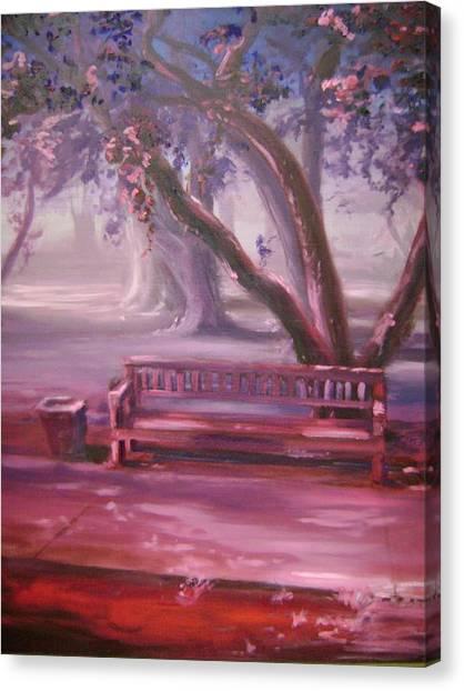 Receding Canvas Print by Lori McCray
