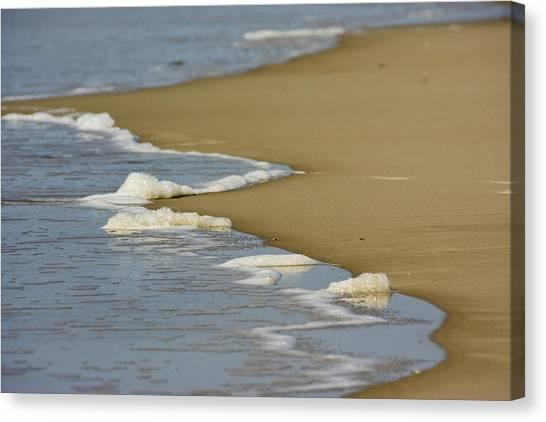 Receding Wave Canvas Print