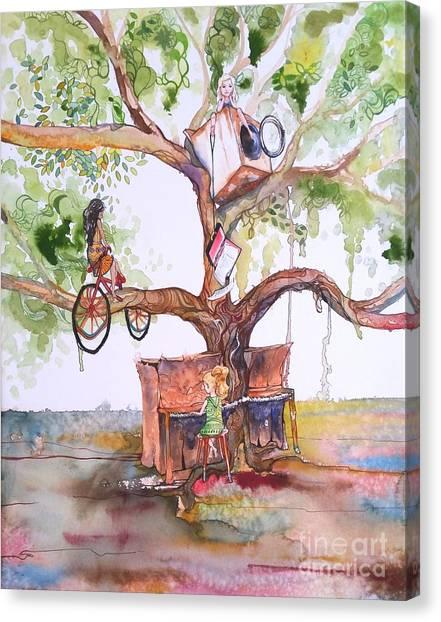 Reckless Canvas Print by Maya Simonson