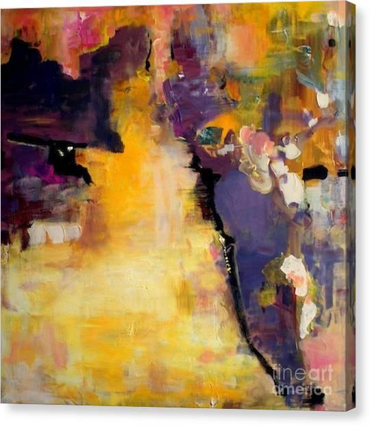 Canvas Print - Reclaimed Land by Jane Ferguson