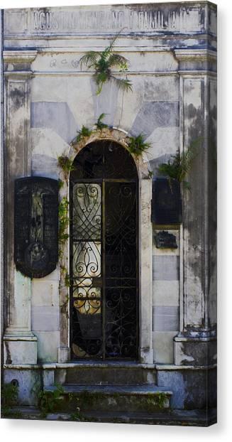 Recoleta Door Canvas Print
