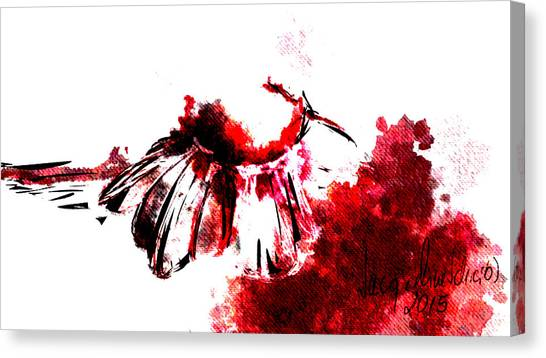 Decorative Canvas Print - Red -1 by Jacqueline Schreiber
