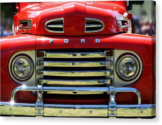 truck mirrors canvas prints page 3 of 8 fine art america 1971 Ford Truck truck mirrors canvas print red 1948 ford f 1 at the golden