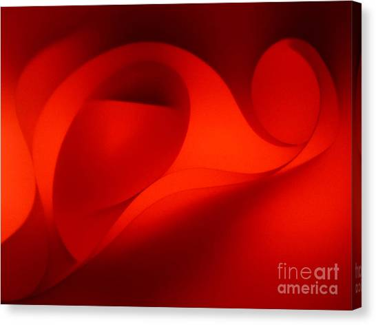 Red Abstract 4 Canvas Print