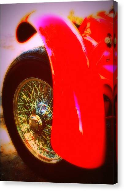 Red Allard Canvas Print