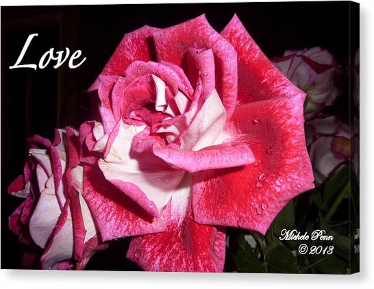 Red Beauty 3 - Love Canvas Print