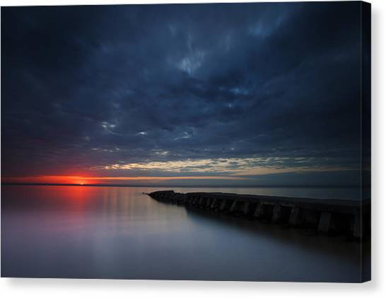 Red Beginnings Canvas Print