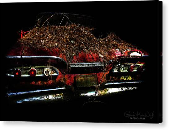 Canvas Print featuring the photograph Red Belle by Glenda Wright
