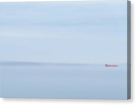 Red Boat 2 Canvas Print