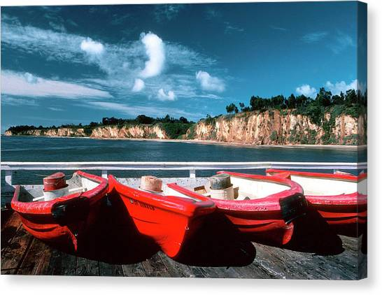 Red Boat Diaries Canvas Print